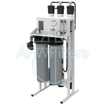 Flexeon Titan 2000 GPD Commercial RO Reverse Osmosis Whole House package deal