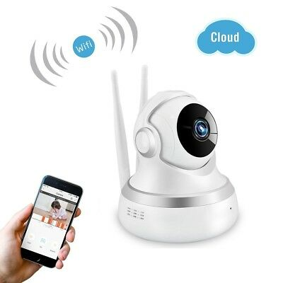 Wireless WIFI IP Security Camera 1080P Cloud Storage Live Pan/Tilt Two Way Audio