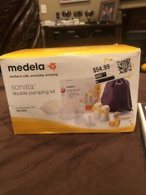 New Medela Sonata Double Pumping Kit #68053 For Breastpump