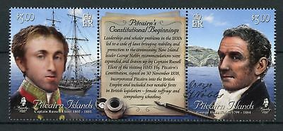 Pitcairn Islands 2018 New Constitution Hms Fly 1838 Xf Mnh