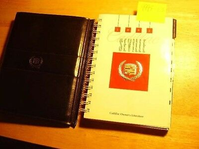 1992 Cadillac SEVILLE Owner's manual *