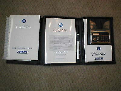 1994 Cadillac CONCOURS Owner's manual *