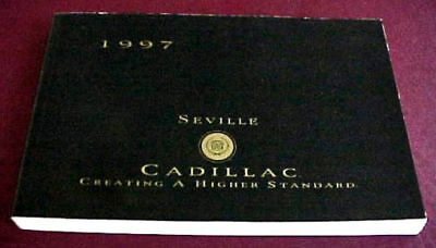 1997 Cadillac SEVILLE Owner's manual *