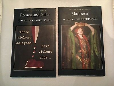 Romeo and Juliet and Macbeth by William Shakespeare paperbacks