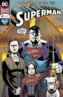 Superman #42 Dc Universe - 1St Print - Bagged And Boarded. Free Uk P+P!
