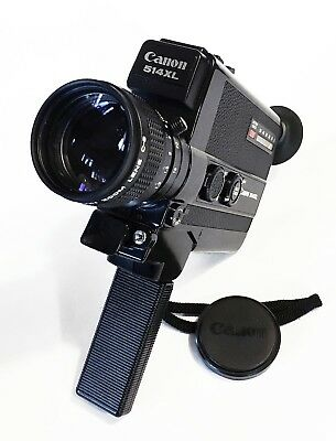 MINT Canon 514XL Super 8 Movie Camera - Film Tested & Fully Working w/ lens Cap