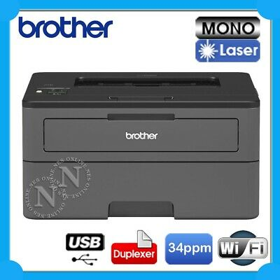 Brother HL-L2350DW/HL-L2375DW Mono Laser Wireless Printer+Duplex+AirPrint *RFB*