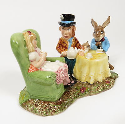 1998 Beswick Royal Doulton Ware Alice Wonderland Tea Party Limited Edition Lc1