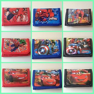 *NEW* Boys Spider-Man/ Marvel Super Heroes/ Avengers Wallet