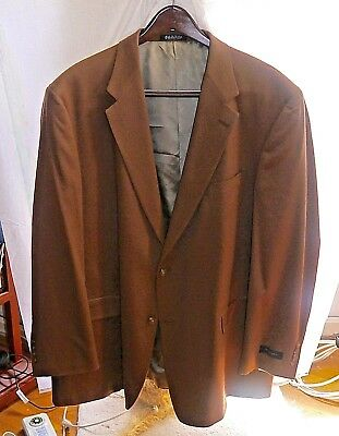 NWT Burberry Sport Coat Mens 48R Blazer Made in USA Two Button Jacket