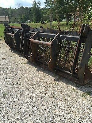 Bobcat Versahandler X Large Grapple Bucket 90""