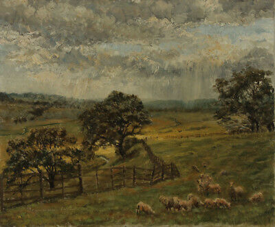 Sir John Drummond Inglis (1895-1985) - Early 20th Century Oil, Sussex Landscape