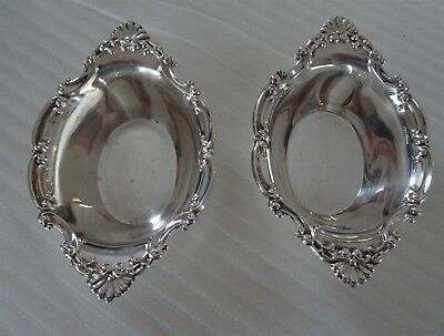 Birks STERLING SILVER Lot of 2 small Nut or Candy dishes