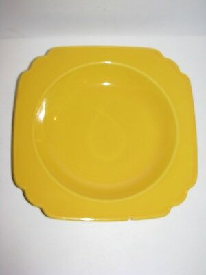 Riviera, Homer Laughlin, Vintage, Round Cereal Soup Bowl, Fiestaware, Yellow