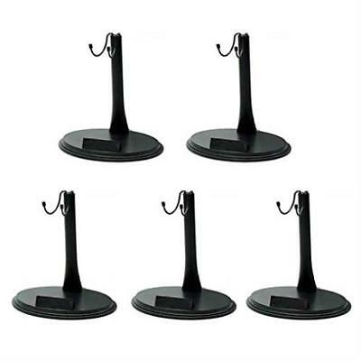 """Aokur 5Pcs Plastic 12"""" Toys Doll Stand Holder Doll Accessories 1/6 Scape New"""