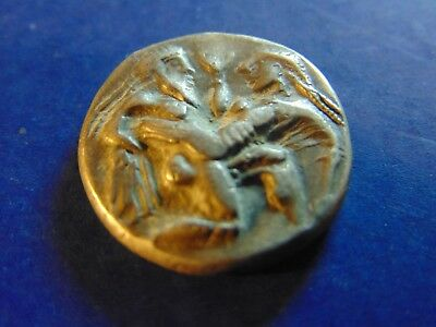Islands Of Thrace Thasos Ar Silver Stater Very Nice!!