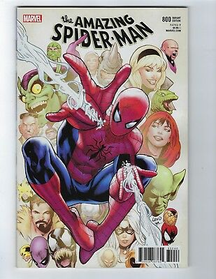 Amazing Spider-Man # 800 Greg Land Cover NM Pre Sale 05/30
