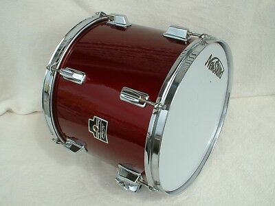 New Sound De Luxe Vintage Drum Tom Tom Hängetom Trommel Schlagzeug Medium Becken