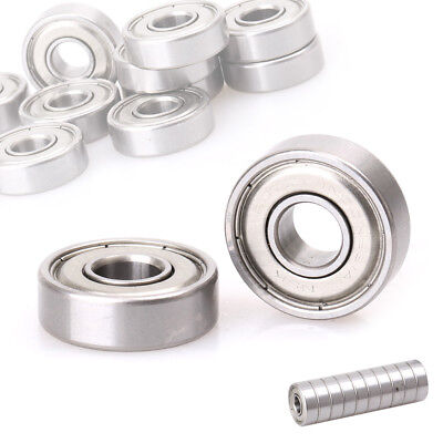 10pcs NMB607ZZ 6072Z Miniature Bearings Ball Deep Groove Bearing 7x19x6mm