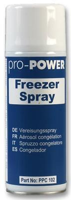 400ml FREEZER SPRAY Tests trace continuity in PCBs Cools components to -50°C