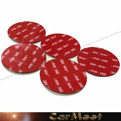Round Style of 3M VHB Acrylic Foam Double Sided Adhesive Tape - One Pack of 5PCS