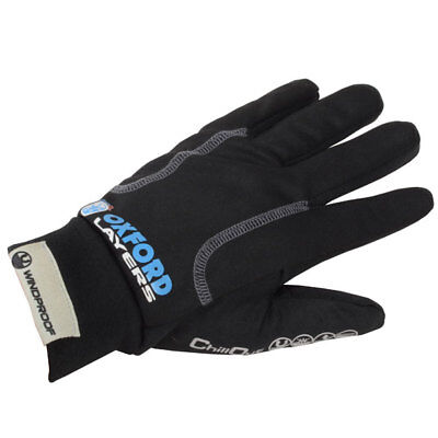 NEW Oxford Chillout Motorcycle Thermals Winter Under Gloves