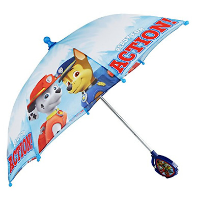 """PAW Patrol Molded Handle Umbrella """"READY FOR ACTION!"""""""