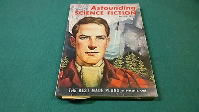 ASTOUNDING SCIENCE FICTION 1959 November, the best made plans, pulp digest oop