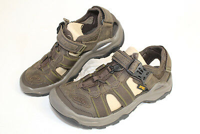 6506715f1b5a Teva Omnium 2 Leather Turkish Coffee Mens Sport Hiking Sandals NEW Shoes  1019179