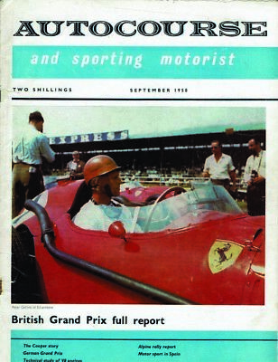AUTOCOURSE and Sporting Motorist Vol 8 Number 30 SEPTEMBER 1958