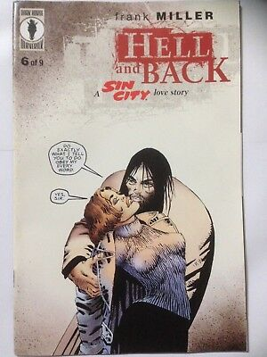 Frank Millers SIN CITY Comic 1999 Hell And Back Issue 6 **Free UK Postage**