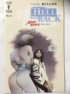 Frank Millers SIN CITY Comic 1999 Hell And Back Issue 4 **Free UK Postage**