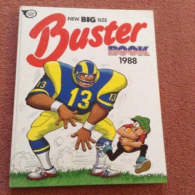 Vintage  Buster Annual  Book 1988
