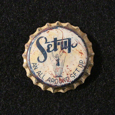 Set-Up Unused Cork Soda Bottle Cap Sahara Dry Products Akron Ohio Mixer Crown Cl