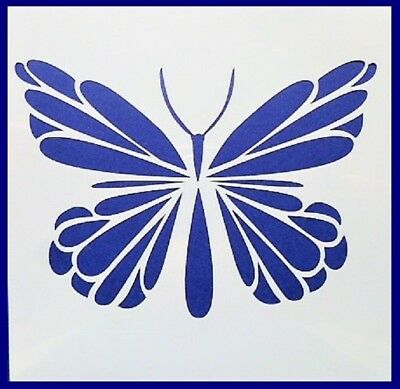 Flexible Stencil *BUTTERFLY* Dainty Garden Small or Medium Card Making Crafts