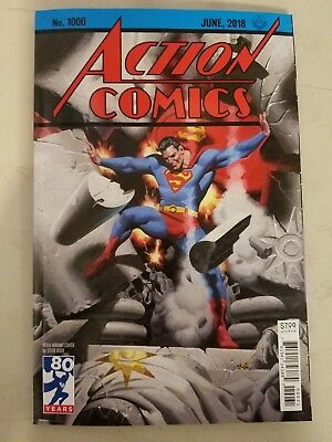 Superman Action Comics #1000 Steve Rude 1930s Variant DC 2018 VF-NM