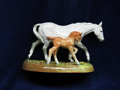 "Royal Doulton ""The Gude Grey Mare"" Porcelain Hand Painted Horse Figurine"