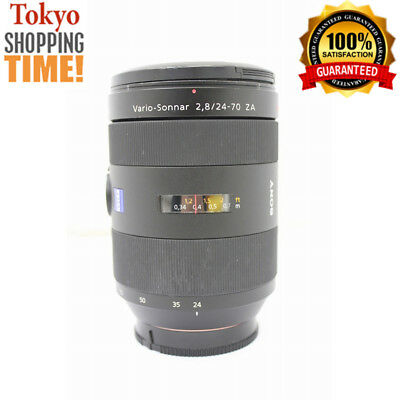 Sony ZEISS Vario Sonnar 24-70mm F/2.8 ZA SSM Lens from Japan