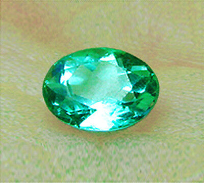 Top Of The Line1.15 ct Natural Earth Mined Emerald Certified No Reserve