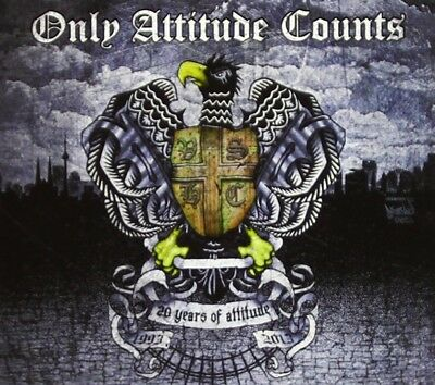 Only Attitude Counts - 20 Years Of Attitude (2Cd Digipack) 2 Cd New+