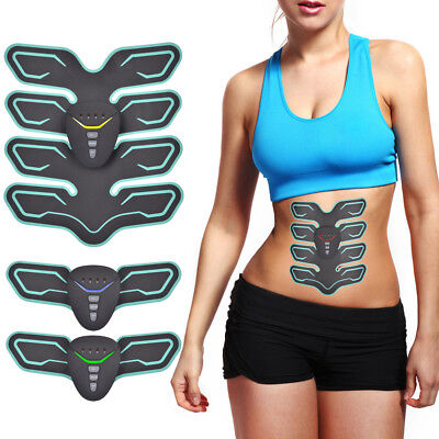Abdominal Toning Belt EMS ABS Trainer Fitness Muscle Toner Smart Fitness 8 Pads