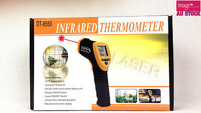 Portable Digital Infrared Thermometer Laser Gun Temperature -42-550°C DT8550 YW
