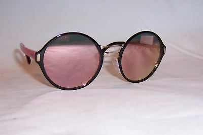 561e2825c9cb NEW PRADA SUNGLASSES Spr 57Ts Aav5L2 Black gold Mirror Authentic 57 ...