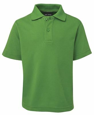 Jb's Kids School Polo Shirts With Cotton Blend Pique fabric Sun Protection 210gs