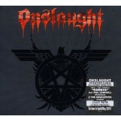 """Onslaught """"Sounds Of Violence (Limited Digipack)""""Cd New+"""