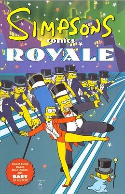 The Simpsons Comic Book - Royale - Brand New