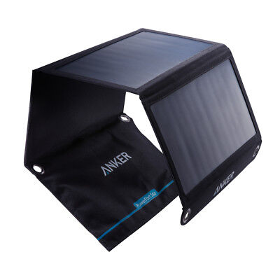 Refurbished Anker 21W Dual USB Solar Charger