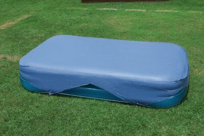 "120"" x 72"" Intex Wet Set Rectangular Frame Paddling Family Pool Cover Protection"