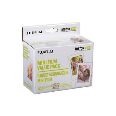 Fujifilm Instax Mini White Instant Film, 60 Exposures #600016111