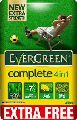 Scotts Miracle-Gro EverGreen Complete 360 sq m + 10% Extra Free Lawn Food, Weed